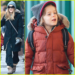 Sarah Jessica Parker: Back to School with James!