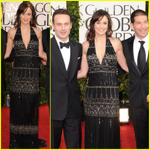Sarah Wayne Callies - Golden Globes 2011 Red Carpet