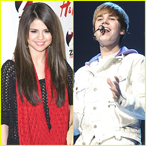 Selena Gomez & Justin Bieber: Kiss Kiss!