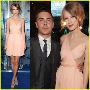 Zac Efron & Taylor Swift: People's Choice Awards 2011!