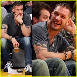 Tom Hardy: Lakers Laughter!