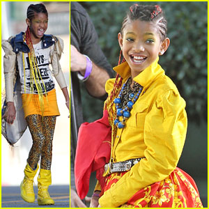 Willow Smith: '21st Century Girl' Video Shoot & Song Preview!