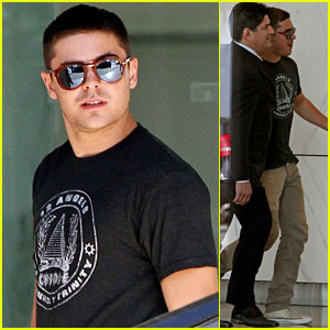 Zac Efron: CAA Agent Meeting