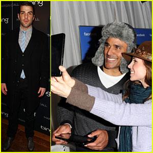 Zachary Quinto & Eliza Dushku: Sundance Film Festival Fun!