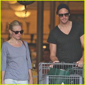 Alexander Skarsgard & Kate Bosworth: Supermarket Mates