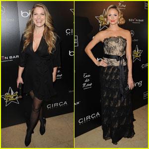 Ali Larter & Stacy Keibler: Hollywood Domino Gala Girls