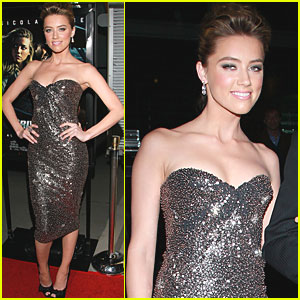 Amber Heard: 'Drive Angry' Screening!