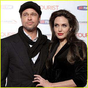 Angelina Jolie: Engraved Diamond Pendant for Brad Pitt!