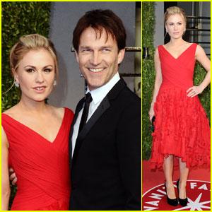 Anna Paquin & Stephen Moyer - Vanity Fair Oscar Party!