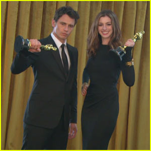 James Franco & Anne Hathaway: Oscars Featurette!