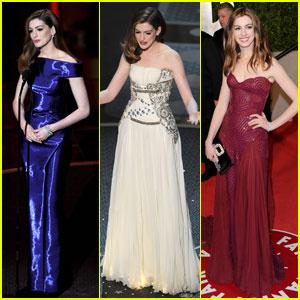 Anne Hathaway - Oscars 2011 Wardrobe Roundup