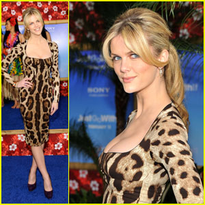 Brooklyn Decker Premieres 'Just Go With It'