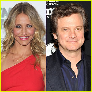 Cameron Diaz: 'Gambit' With Colin Firth!