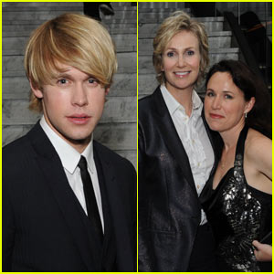 Chord Overstreet & Jane Lynch: Warner Music Glee!