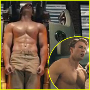 Chris Evans: New 'Captain America' Trailer!