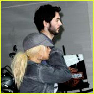 Christina Aguilera & Matthew Rutler: San Diego Duo