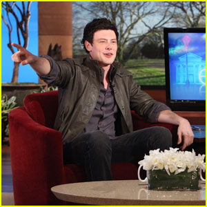 Cory Monteith: Hidden Camera Fun with Ellen DeGeneres!