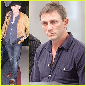 Daniel Craig: LAX Liftoff