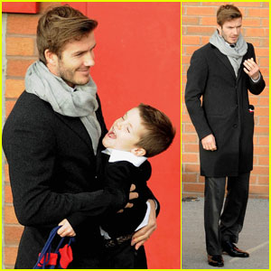 David Beckham Rescues A Stranded Driver