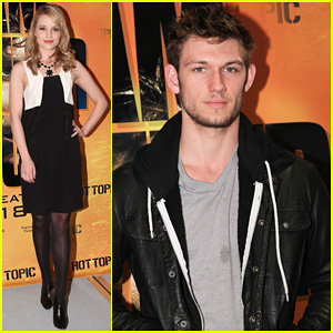 Alex Pettyfer & Dianna Agron: Hot Topic Duo!