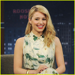 Dianna Agron Talks Bathroom Break with Beyonce