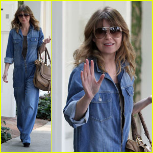 Ellen Pompeo Makes It A Denim Day
