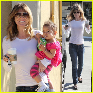 Ellen Pompeo: Starbucks with Stella!