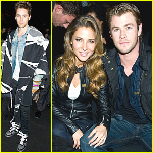 Chris Hemsworth: G-Star Show with Jared Leto!
