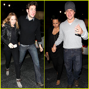 Emily Blunt & John Krasinski: Double Date with the Damons!
