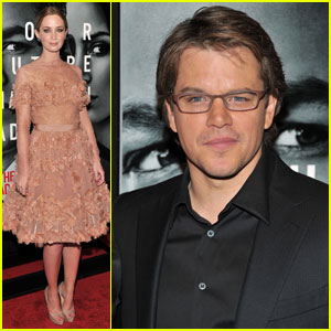 Emily Blunt: 'Adjustment Bureau' Premiere with Matt Damon!