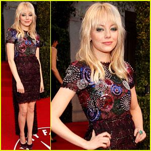 Emma Stone - Vanity Fair Oscar Party!