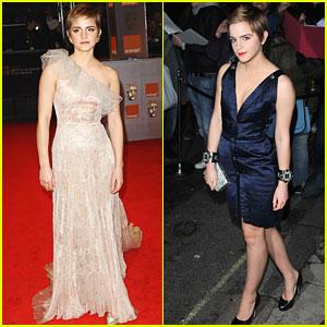 Emma Watson: BAFTAs 2011 Red Carpet
