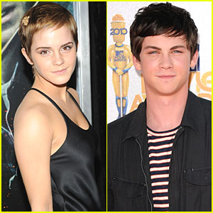 Emma Watson: 'Perks of Being a Wallflower' with Logan Lerman!