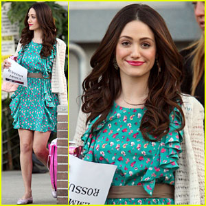 Emmy Rossum: Psyched for 'Chelsea Lately' Appearance!