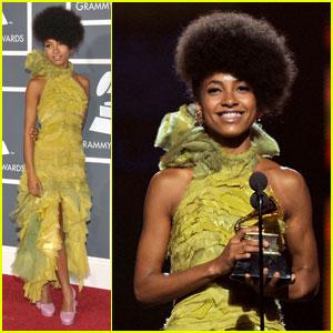 Esperanza Spalding: Grammy Best New Artist!