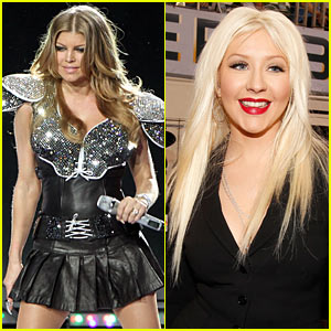Fergie Defends Christina Aguilera's Super Bowl Performance