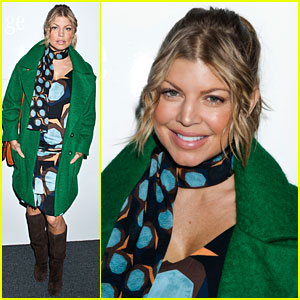 Fergie: Front Row at Diane Von Furstenberg Fashion Show