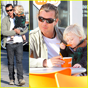 Gavin Rossdale: Yogurt Stop with Zuma!