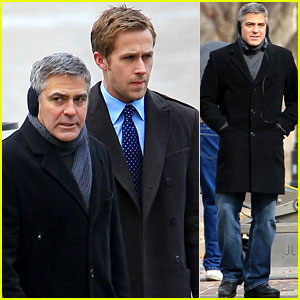 George Clooney: 'Ides of March' with Ryan Gosling!