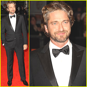 Gerard Butler: BAFTAs 2011 Red Carpet