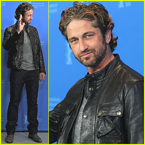 Gerard Butler: 'Coriolanus' Photo Call at Berlin Film Fest!