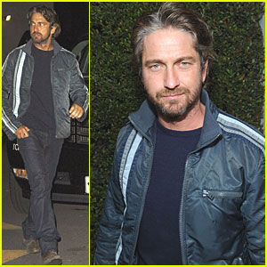 Gerard Butler: Campaign Hollywood Kickoff Party