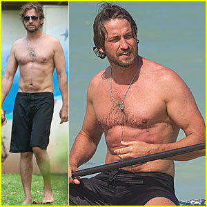 Gerard Butler: Hawaiian Holiday!