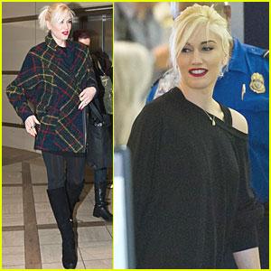 Gwen Stefani: LAX Liftoff!