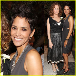 Halle Berry: Pre-Oscar Cocktail Party with Melissa Leo!