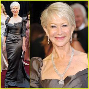 Helen Mirren - Oscars 2011 Red Carpet