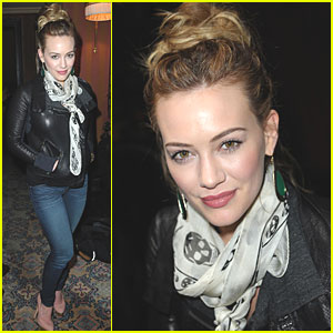 Hilary Duff: 'Elixir' Signing in Paris!