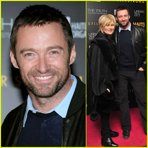 Hugh Jackman: Help Haiti Benefit with Deborra Lee Furness!