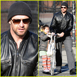 Hugh Jackman: Valentine's Day With Ava!