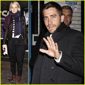 Jake Gyllenhaal & Carey Mulligan: 'Three Sisters' Night!